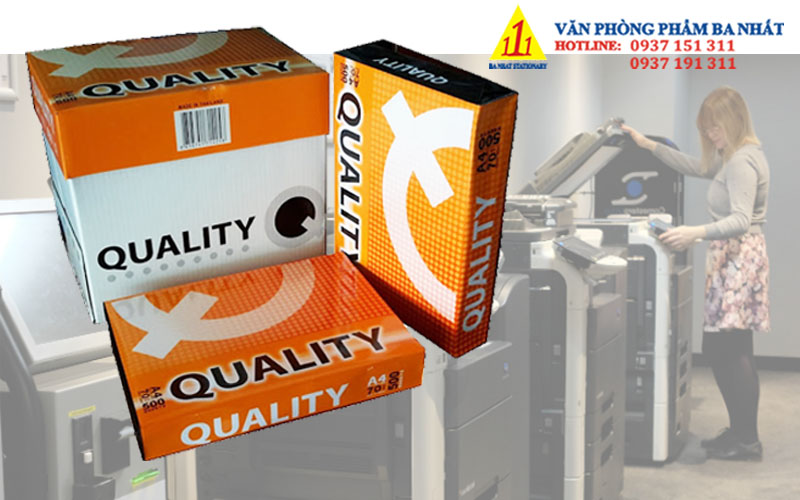 quality A4 70gsm, giấy in quality A4 70