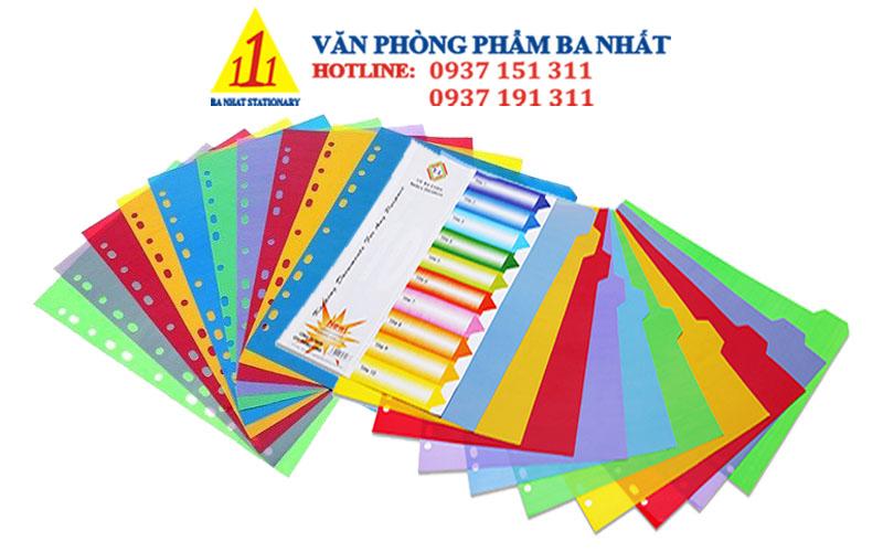 bìa phân trang giá rẻ, phân trang nhựa 10 số, bìa phân trang đẹp, bìa phân trang nhựa 10 số, bìa phân trang nhựa, bìa nhựa màu phân trang, bìa phân trang 10 số