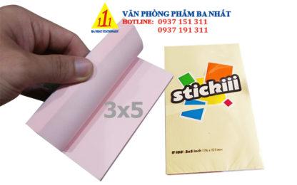 giấy note, giấy note màu, giấy note stickiii, bộ giấy note dán, giấy ghi chú 3x5 stickiii, giấy ghi chú 3x5, giấy note 3 x 5 stickiii