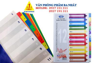 bìa phân trang giá rẻ, phân trang nhựa 12 số, bìa phân trang đẹp, bìa phân trang nhựa 12 số, bìa phân trang nhựa, bìa nhựa màu phân trang, bìa phân trang 12 số