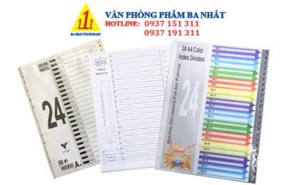 bìa phân trang giá rẻ, phân trang nhựa 24 chữ, bìa phân trang đẹp, bìa phân trang nhựa 24 chữ, bìa phân trang nhựa, bìa nhựa màu phân trang, bìa phân trang 24 chữ