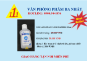 Gel rửa tay Clearwateris 100ml