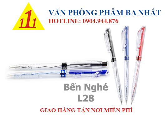 bút bi, bút bi bến nghé L28, bến nghé L28, giá bút bi bến nghé, bút bi bến nghé giá sỉ, viết bi bến nghé L28