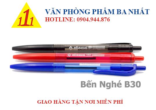 bút bi, bút bi bến nghé B30, bến nghé B-30, giá bút bi bến nghé, bút bi bến nghé giá sỉ, viết bi bến nghé B30