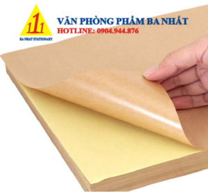 giấy decal da bò, decal giấy dán, giấy decal