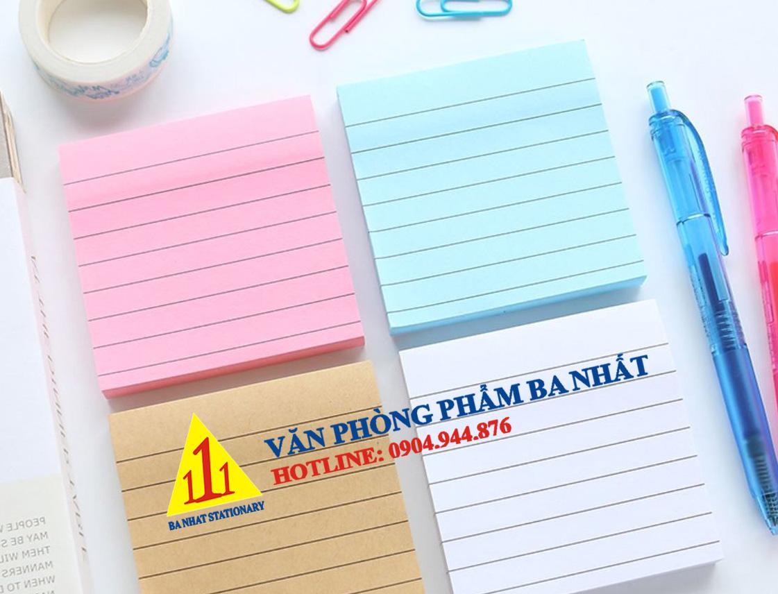 giấy note kẻ dòng, giấy note màu kẻ dòng, giấy note dán, giấy note kẻ ngang, giấy note màu, giấy note kẻ dòng sẵn, giấy dán ghi chú kẻ ngang, giấy ghi chú kẻ dòng, giấy note màu giá rẻ