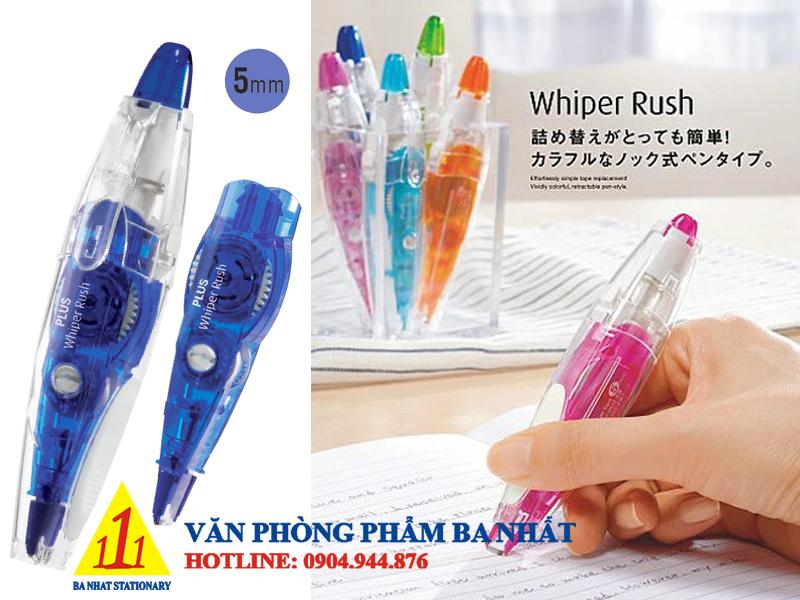 bút xóa giấy plus, băng xóa rush plus, bút xóa rush, băng xóa kéo rush plus, viết xóa giấy plus rush
