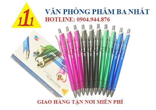 bút gel, viết gel, bút gel thiên long B011, giá bút gel B011 thiên long, bút gel thiên long B011 giá sỉ, viết thiên long gel B011, bút nước thiên long GEL B011