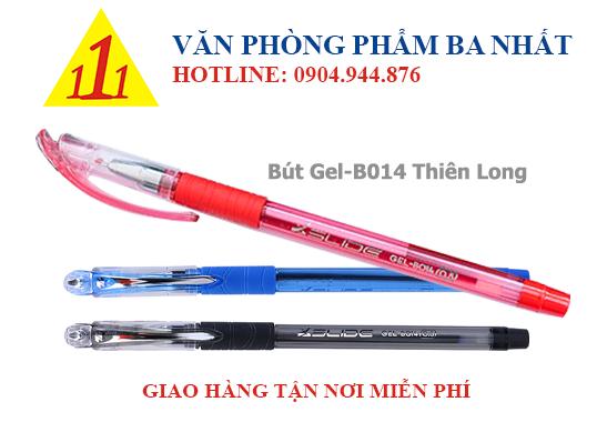 bút gel, viết gel, bút gel thiên long B014, giá bút gel B014 thiên long, bút gel thiên long B014 giá sỉ, viết thiên long gel B014, bút nước thiên long GEL B014