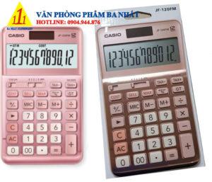 casio, Casio JF-120FM-PK, máy tính Casio JF-120FM-PK màu hồng, máy tính kế toán Casio JF-120FM-PK, máy tính cá nhân màu hồng Casio JF-120FM-PK, máy tính tính tiền Casio JF-120FM-PK, máy tính Casio JF-120FM-PK màu hồng tem bitex, máy tính Casio JF-120FM-PK chính hãng