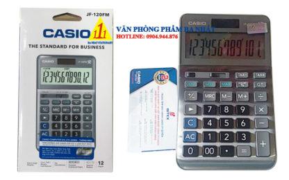 casio, Casio JF-120FM, máy tính Casio JF-120FM, máy tính kế toán Casio JF-120FM, máy tính cá nhân Casio JF-120FM, máy tính tính tiền Casio JF-120FM, máy tính Casio JF-120FM tem bitex, máy tính Casio JF-120FM chính hãng