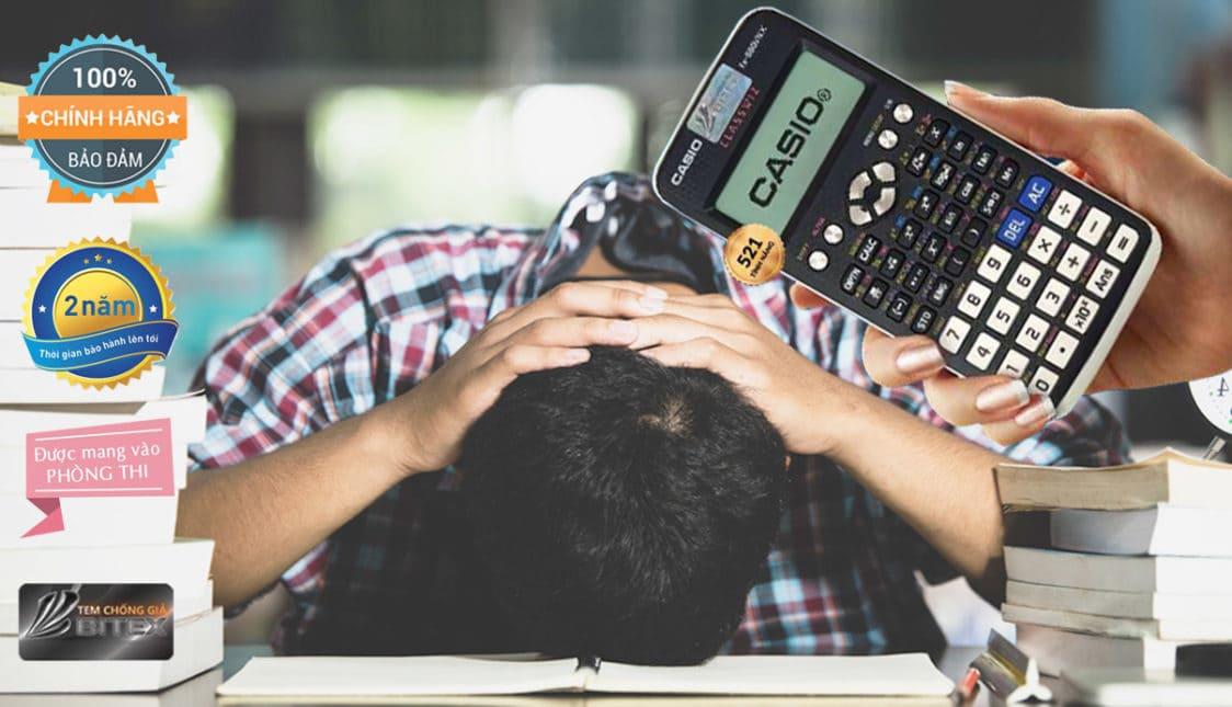casio, máy tính casio, máy tính được mang vào phòng thi, máy casio thi toán, máy tính casio học toán