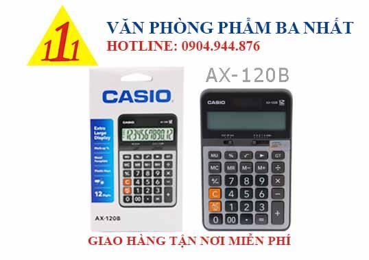 casio, CASIO AX-120B, máy tính Casio AX-120B, máy tính kế toán Casio AX-120B, máy tính cá nhân Casio AX-120B, máy tính tính tiền Casio AX-120B, máy tính Casio AX-120B tem bitex, máy tính Casio AX-120B chính hãng