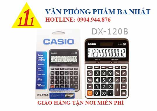 casio, CASIO DX-120B, máy tính Casio DX-120B, máy tính kế toán Casio DX-120B, máy tính cá nhân Casio DX-120B, máy tính tính tiền Casio DX-120B, máy tính Casio DX-120B tem bitex, máy tính Casio DX-120B chính hãng
