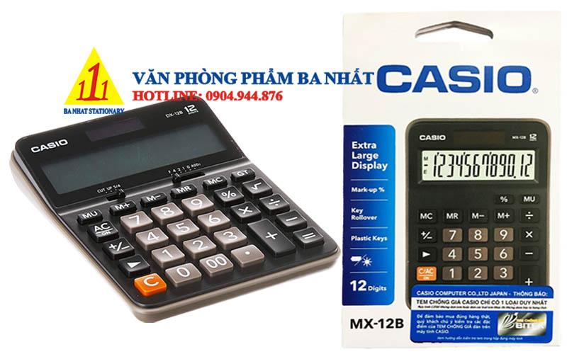 casio, CASIO DX-12B, máy tính Casio DX-12B, máy tính kế toán Casio DX-12B, máy tính cá nhân Casio DX-12B, máy tính tính tiền Casio DX-12B, máy tính Casio DX-12B tem bitex, máy tính Casio DX-12B chính hãng