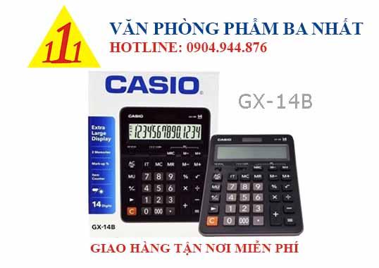 casio, CASIO GX-14B, máy tính Casio GX-14B, máy tính kế toán Casio GX-14B, máy tính cá nhân Casio GX-14B, máy tính tính tiền Casio GX-14B, máy tính Casio GX-14B tem bitex, máy tính Casio GX-14B chính hãng