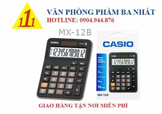 casio, CASIO MX-12B, máy tính Casio MX-12B, máy tính kế toán Casio MX-12B, máy tính cá nhân Casio MX-12B, máy tính tính tiền Casio MX-12B, máy tính Casio MX-12B tem bitex, máy tính Casio MX-12B chính hãng