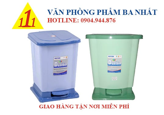 thùng rác duy tân, thùng rác đạp lớn Duy Tân, thùng rác đạp chân Duy Tân, thùng rác Duy Tân No.742, thùng rác cỡ lớn, thùng rác to, thùng rác nhựa đạp chân, thùng đựng rác lớn Duy Tân, thùng rác đại