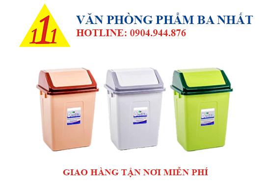 thùng rác duy tân, thùng rác nắp lật nhỏ Duy Tân, Thùng rác nhỏ Duy Tân No.H126, thùng đựng rác nắp lật Duy Tân No.H126, thùng rác nhựa Duy Tân, thùng rác cỡ nhỏ, thùng rác nắp lật No.H126