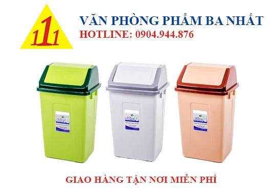 thùng rác duy tân, thùng rác nắp lật trung Duy tân, Thùng rác trung Duy Tân No.H127, thùng đựng rác nắp lật Duy Tân No.H127, thùng rác nhựa Duy Tân, thùng rác cỡ trung, thùng rác nắp lật No.H127