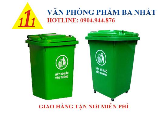 thùng rác nhựa 60 lít, thùng rác có nắp, Thùng rác lớn 60L nắp đậy, thùng đựng rác nắp đậy 60l, thùng rác nhựa 60l có bánh xe, thùng rác loại lớn có bánh xe, thùng rác nắp đậy công cộng, thùng rác công cộng 60L