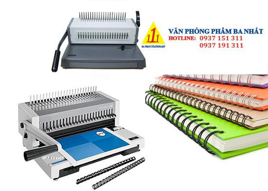 máy đóng sách, máy đống công văn, máy đóng gáy lò xo