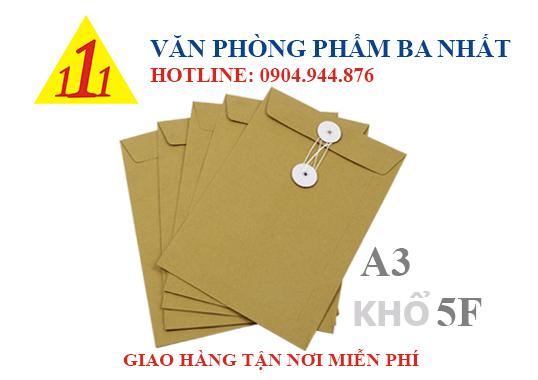 Bìa xi măng, bìa xi măng cột dây, bìa giấy kraft, bìa giấy cột dây, bìa xi măng A3 khổ 5F, bìa giấy kraft 5F, bìa xi măng 5F