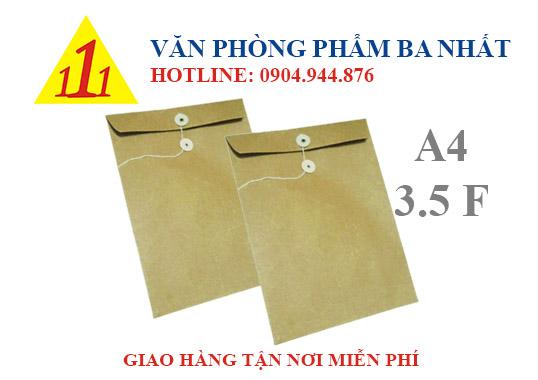 Bìa xi măng, bìa xi măng cột dây, bìa giấy kraft, bìa giấy cột dây, bìa xi măng A4 khổ 3.5F, bìa giấy kraft 3.5F, bìa xi măng 3.5F