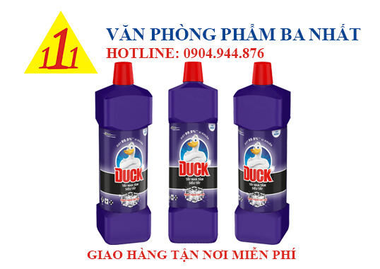 nước tẩy bồn cầu, nước tẩy bồn cầu duck, nước tẩy bồn cầu con vịt, giá nước tẩy bồn cầu duck, nước tẩy rửa toilet duck