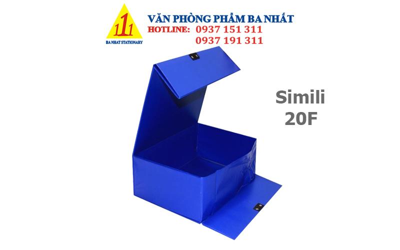 bìa hộp, bìa hộp đựng hồ sơ, bìa hộp simili 20F, bìa hộp 20cm, bìa hộp 20F giá rẻ, bìa hộp simili 20cm giá rẻ, bìa hộp simili 20f thường