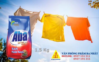 bột giặt, giá bột giặt aba, bột giặt aba 1.5kg, bột giặt aba, các loại bột giặt aba, xà bông giặt đồ aba 1.5kg, xà bông giặt đồ
