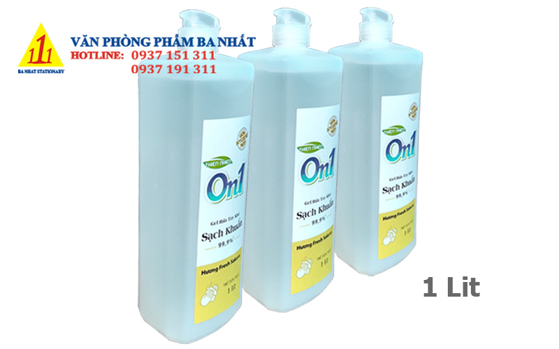 gel rửa tay khô, gel rửa tay, gel rửa tay khô on1, gel rửa tay on1, nước rửa tay khô, gel rửa tay on1 1 lít