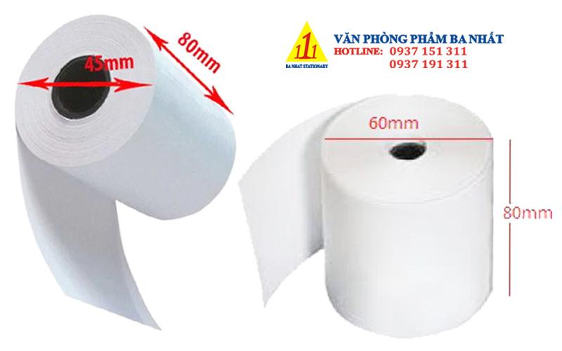 giấy cảm nhiệt, giấy in chuyển nhiệt
