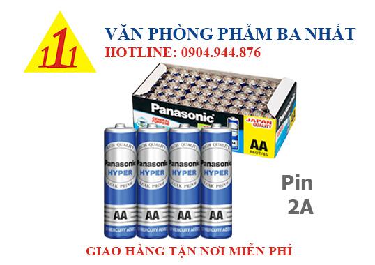pin 2a, pin tiểu, pin aa, pin 1.5v, pin panasonic 2a chính hãng, pin đũa, pin 2a panasonic, pin Panasonic