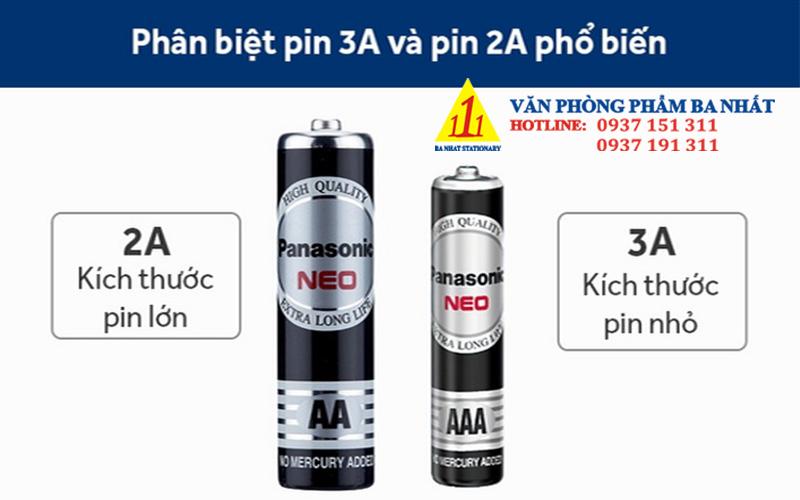 pin 3a, pin tiểu, pin aaa, pin 1.5v, pin panasonic 3a chính hãng, pin đũa, pin 3a panasonic, pin Panasonic
