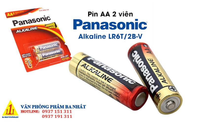 pin 2a, pin tiểu, pin aa, pin 1.5v, pin panasonic 2a chính hãng, pin đũa, pin 2a panasonic, pin Panasonic alkaline, pin AA Panasonic alkaline
