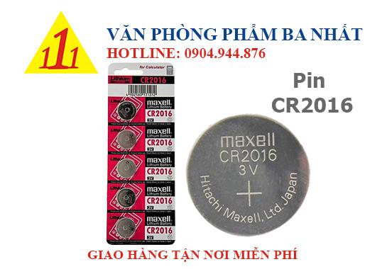 pin CR2016, pin 6v, pin nút áo cr2016, pin maxell CR2016 chính hãng, pin nút áo, pin 6v maxell