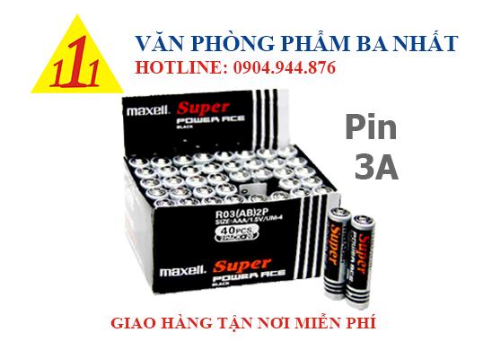 pin aa, pin 3a, pin tiểu, pin tiểu aaa, pin 1.5v, pin aaa 1.5v, pin maxell 3a chính hãng, pin đũa, pin 3a maxell, pin maxell