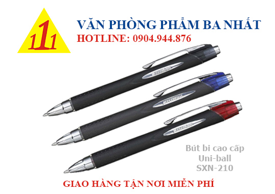 bút bi cao cấp, bút uniball, Bút bi uniball SXN 210