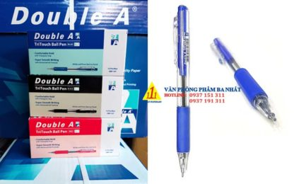 bút bi double a, bút bi 0.7 mm, bút double a TRITOUCH