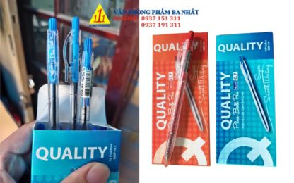 Bút Quality Plus ball pen 0.7mm, bút bi quality, bút bi 0.7 mm