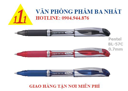 bút gel, bút bi nước, bút gel pentel BL 57C