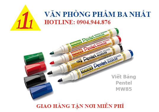 bút lông bảng, bút lông viết bảng, bút lông bảng pentel MW85