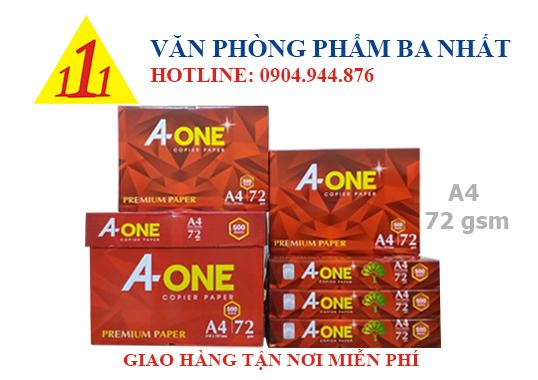 giấy A4, giấy in A4 giá rẻ, A-one A4, A-one A4 72gsm