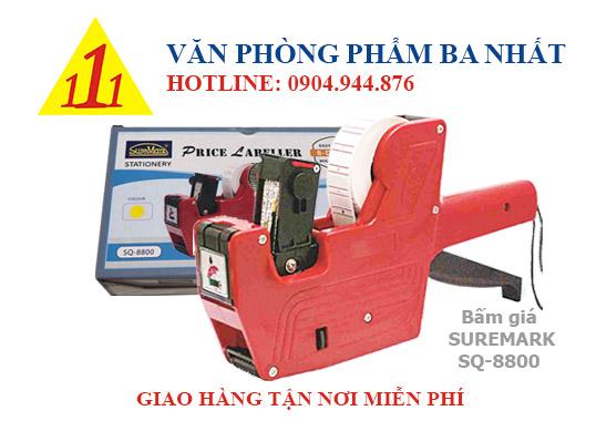máy bấm giá suremark, máy dán giá, suremark SQ 8800