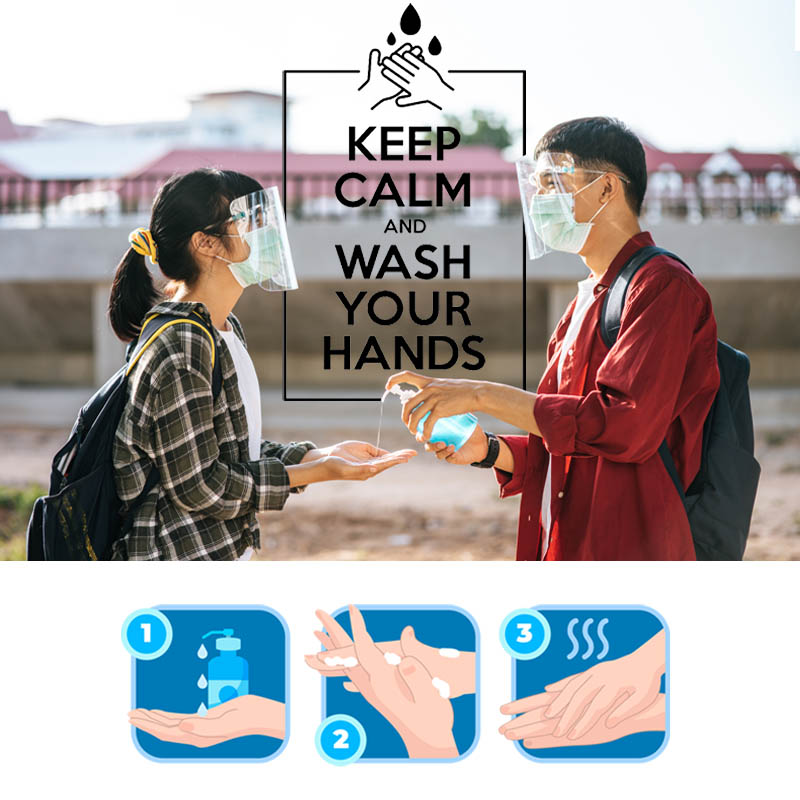 cách rửa tay khô