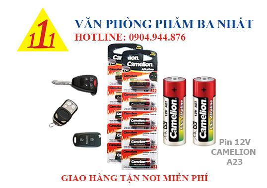 Pin 12V camelion A23, pin chìa khóa ô tô, pin remote cửa, pin 12V A23