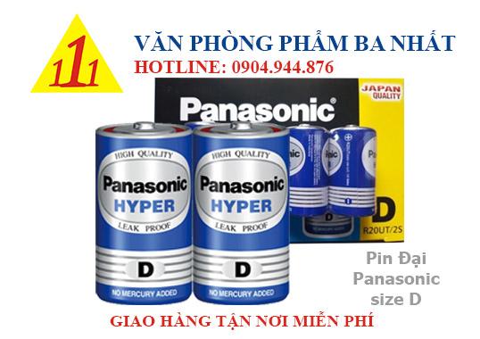 pin D, pin đại, pin đại panasonic, pin size D, pin Panasonic chính hãng