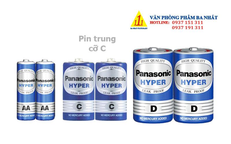 pin cỡ trung, pin trung panasonic, pin cỡ C