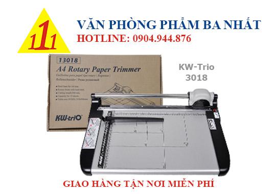 bàn cắt giấy, bàn cắt giấy con lăn KW-trio-3018